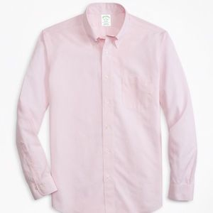 Brooks Brothers pink ls button down shirt.